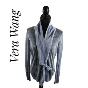 Button front sweater by Vera Wang
